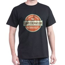 camp counselor vintage logo T-Shirt