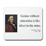 Benjamin Franklin 12 Mousepad