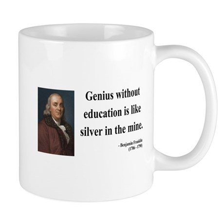 Benjamin Franklin 12 Mug