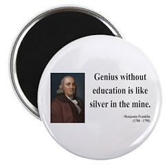 Benjamin Franklin 12 Magnet