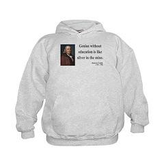 Benjamin Franklin 12 Hoodie