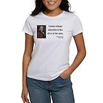 Benjamin Franklin 12 Women's T-Shirt