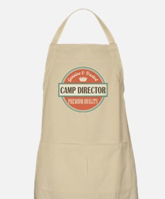 camp director vintage logo Apron