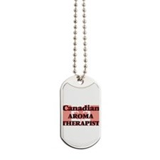 Canadian Aroma Therapist Dog Tags