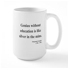 Benjamin Franklin 12 Large Mug