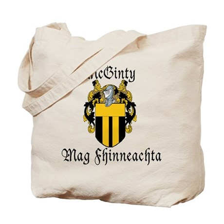 McGinty in Irish & English Tote Bag