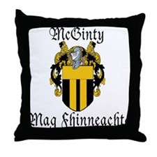 McGinty in Irish & English Throw Pillow