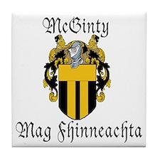 McGinty in Irish & English Tile Coaster