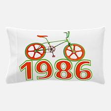 Retro 1986 BMX Bike Pillow Case