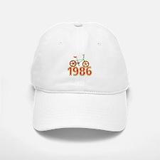 Retro 1986 BMX Bike Baseball Baseball Cap