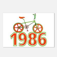 Retro 1986 BMX Bike Postcards (Package of 8)