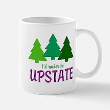 I'D RATHER BE UPSTATE Mug