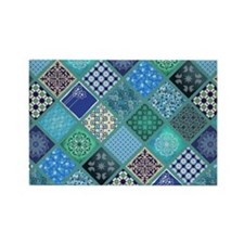BOHEMIAN CHIC Rectangle Magnet