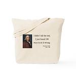 Benjamin Franklin 13 Tote Bag
