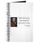Benjamin Franklin 13 Journal