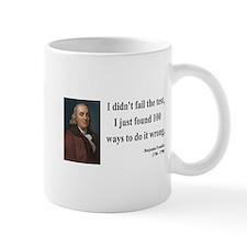 Benjamin Franklin 13 Mug