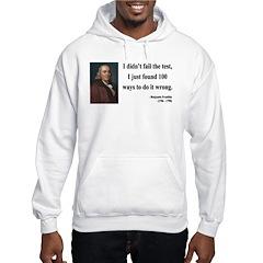 Benjamin Franklin 13 Hoodie