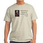 Benjamin Franklin 13 Light T-Shirt