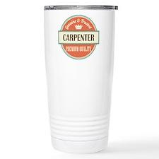 carpenter vintage logo Travel Mug