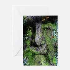 The Green Man (Walt Whitman) Greeting Cards