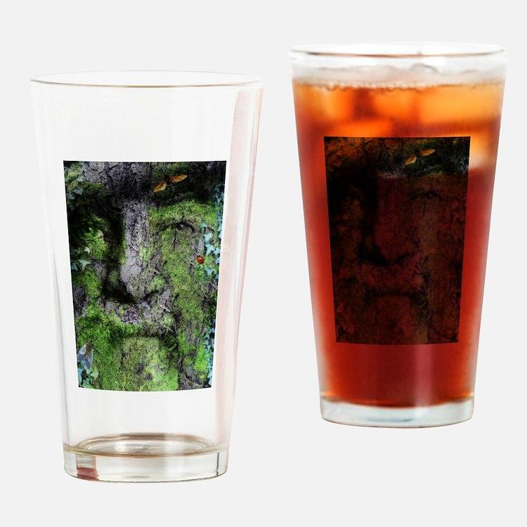 The Green Man (Walt Whitman) Drinking Glass