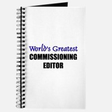 Worlds Greatest COMMISSIONING EDITOR Journal