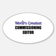 Worlds Greatest COMMISSIONING EDITOR Decal
