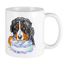 Bernese MT Dog Birthday Mug