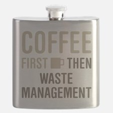 Coffee Then Waste Management Flask