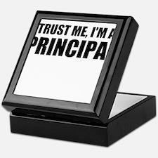 Trust Me, I'm A Principal Keepsake Box