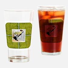 PEEK-A-BOO Drinking Glass