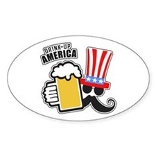 Drink Up America Decal