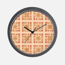 PATCHWORK PERFECTION Wall Clock