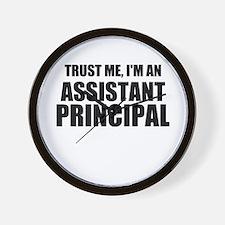 Trust Me, I'm An Assistant Principal Wall Clock