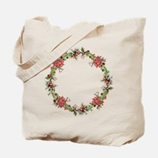Holiday wreath Tote Bag