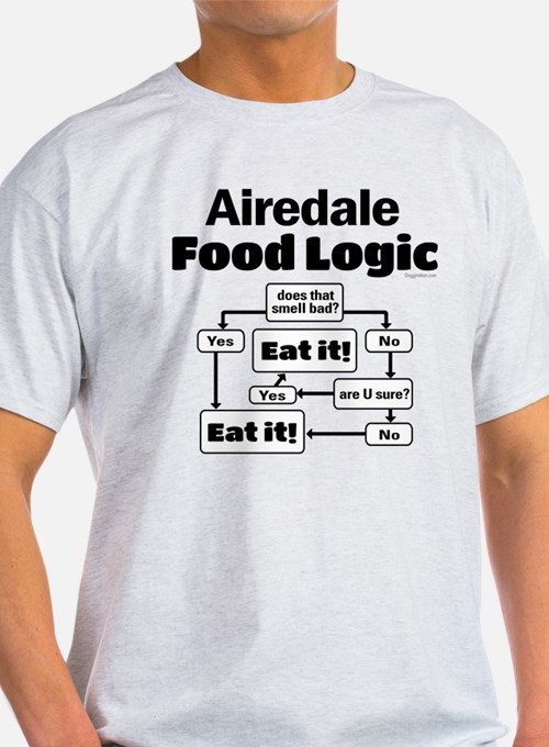 Airedale Food T-Shirt