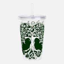 Tree of Life Acrylic Double-wall Tumbler