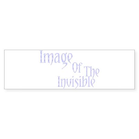Image Of The Invisible Bumper Sticker
