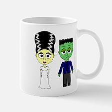 Bride of Frankenstein and Monster Mugs
