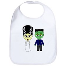 Bride of Frankenstein and Monster Bib
