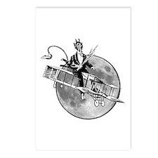 Krampus 007 Postcards (package Of 8)