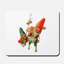 Gnomes with a Baby Pig Mousepad