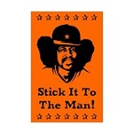 Stick it to The Man! Mini Poster Print