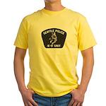 Seattle Police K-9 Unit Yellow T-Shirt