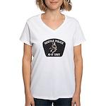 Seattle Police K-9 Unit Women's V-Neck T-Shirt