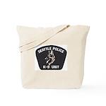 Seattle Police K-9 Unit Tote Bag