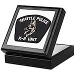Seattle Police K-9 Unit Keepsake Box