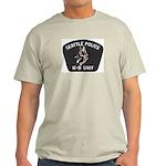 Seattle Police K-9 Unit Light T-Shirt