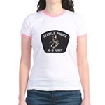 Seattle Police K-9 Unit Jr. Ringer T-Shirt