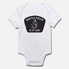 Seattle Police K-9 Unit Infant Bodysuit